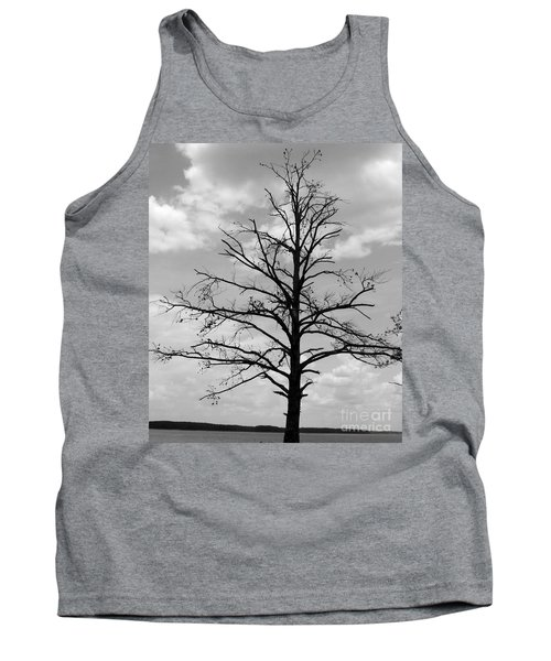 Tank Top featuring the photograph Winter Tree by Andrea Anderegg