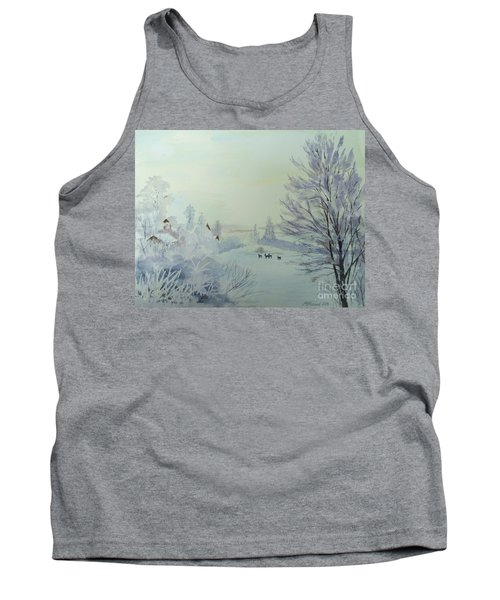 Winter Visitors Tank Top