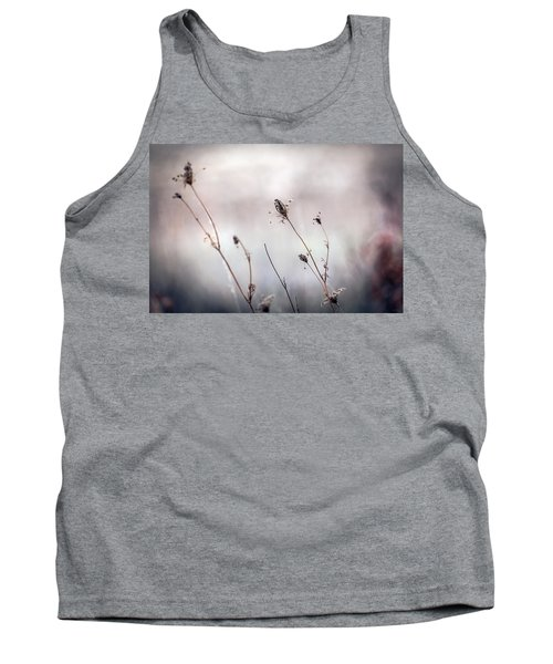 Tank Top featuring the photograph Winter Wild Flowers by Sennie Pierson