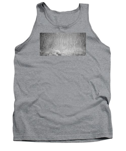 Tank Top featuring the photograph Winter Wood 2013 by Joan Davis