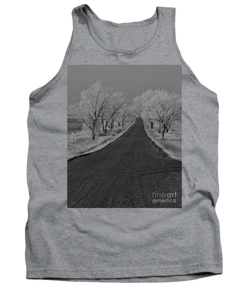 A Rural Winter's Road Tank Top