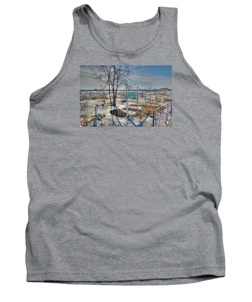 Wintery Grave Tank Top
