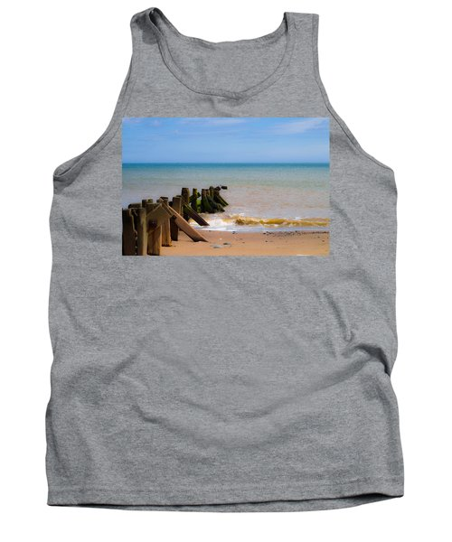 Withernsea Groynes Tank Top