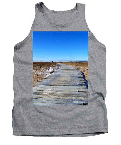 Tank Top featuring the photograph Plum Island by Eunice Miller