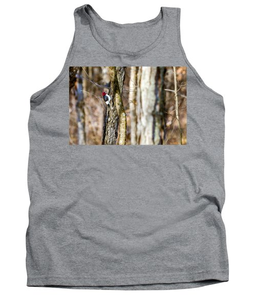 Tank Top featuring the photograph Woody by Sennie Pierson