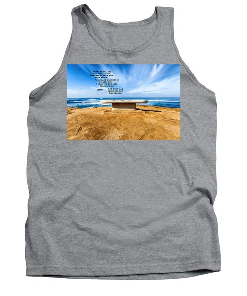 Words Above The Bench Tank Top