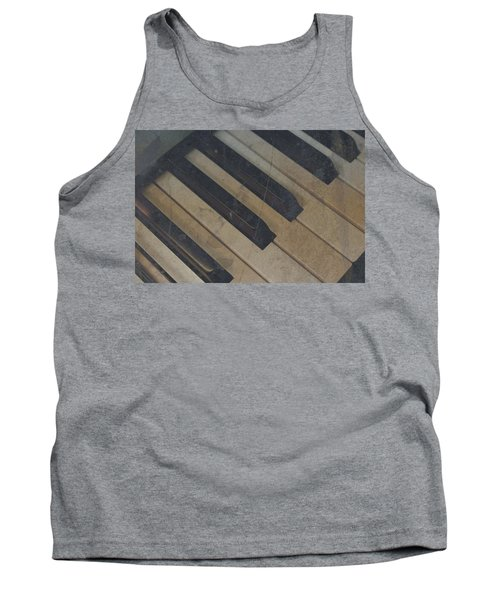 Tank Top featuring the photograph Worn Out Keys by Photographic Arts And Design Studio