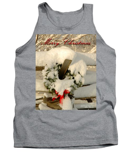 Tank Top featuring the photograph Wreath  by Alana Ranney