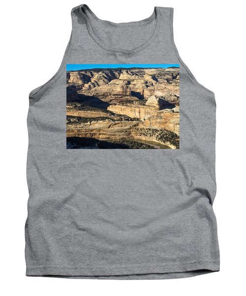Yampa River Canyon In Dinosaur National Monument Tank Top