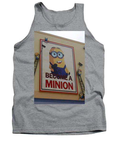 Year Of The Minions Tank Top