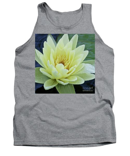 Yellow Water Lily Nymphaea Tank Top