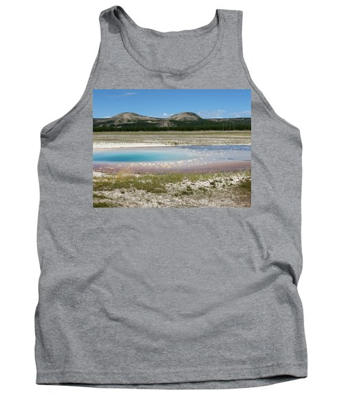 Yellowstone Landscape Tank Top by Laurel Powell