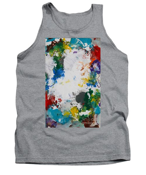 Yes Abstract Tank Top