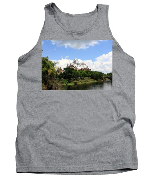 Tank Top featuring the photograph Yeti Country by David Nicholls