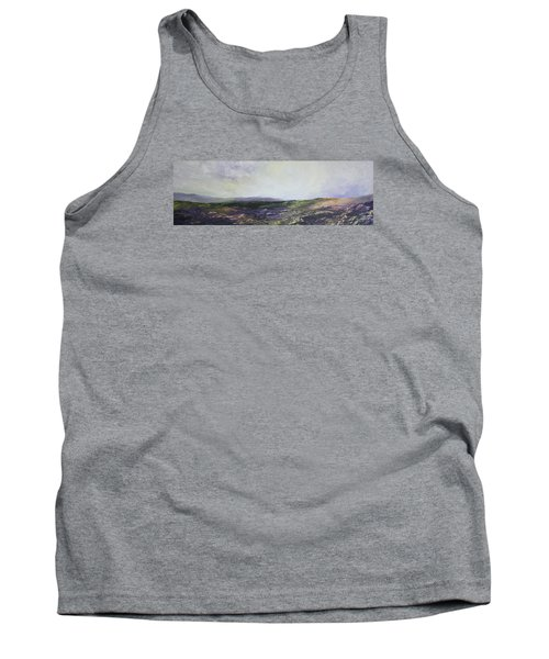 Tank Top featuring the painting Yorkshire Moors by Jean Walker