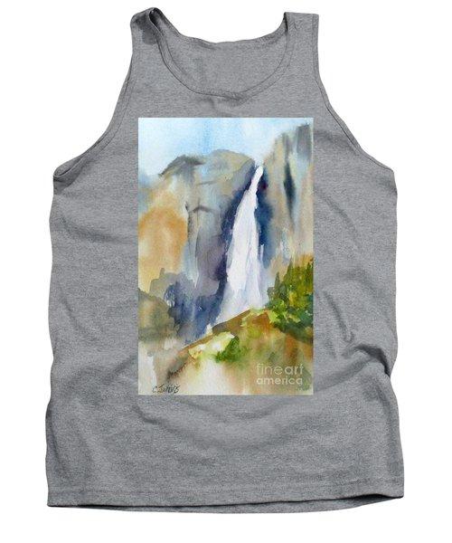 Yosemite Falls Springtime Tank Top