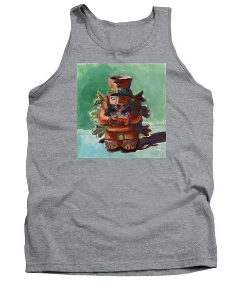 Tank Top featuring the painting Yucatan Prince by Pattie Wall