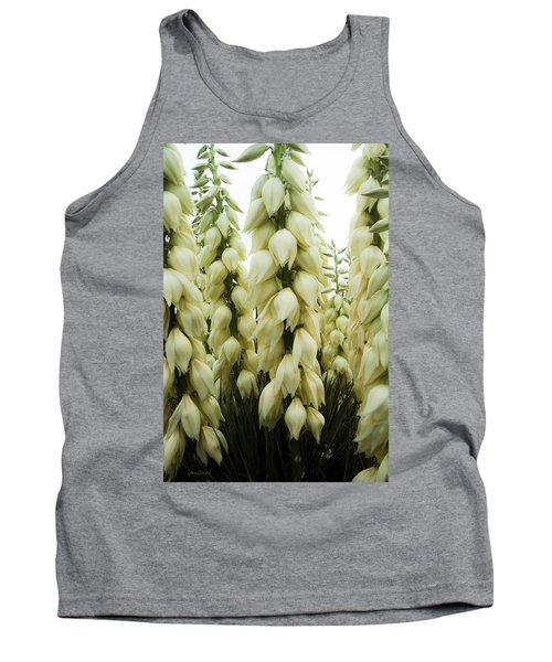 Tank Top featuring the photograph Yucca Forest by Steven Milner