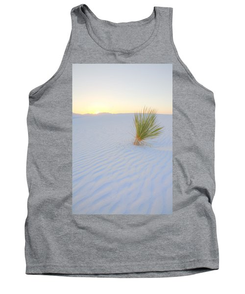 Tank Top featuring the photograph Yucca Plant At White Sands by Alan Vance Ley