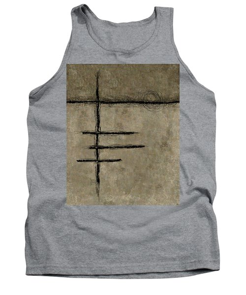 0292 Abstract Thought Tank Top