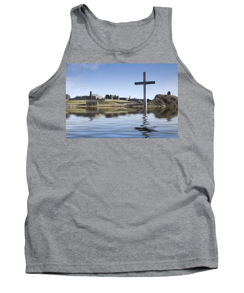 Cross In Water, Bewick, England Tank Top