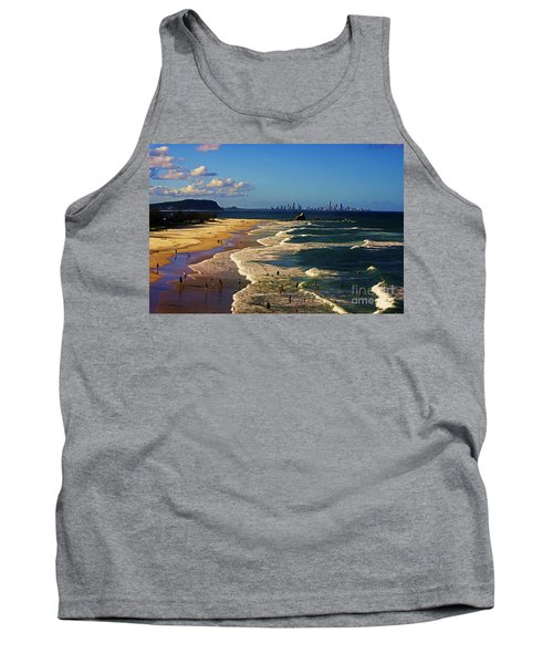Gold Coast Beaches Tank Top