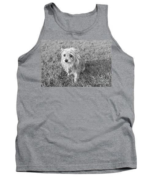 Tank Top featuring the photograph Gremlin by Jeannette Hunt