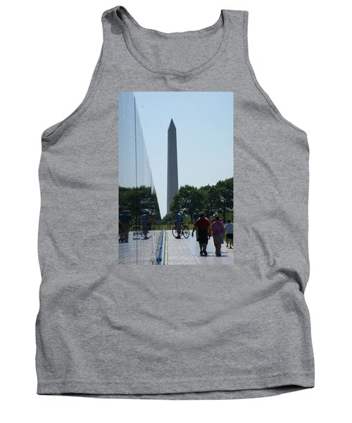 Monument Tank Top by Heidi Poulin