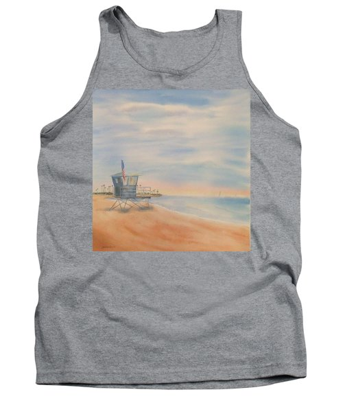 Morning By The Beach Tank Top