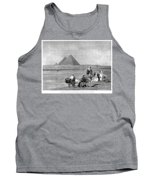 Pyramids At Giza, 1882 Tank Top
