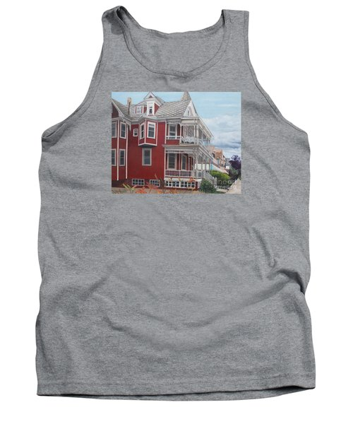 Victorian Afternoon Cape May Tank Top by Barbara Barber