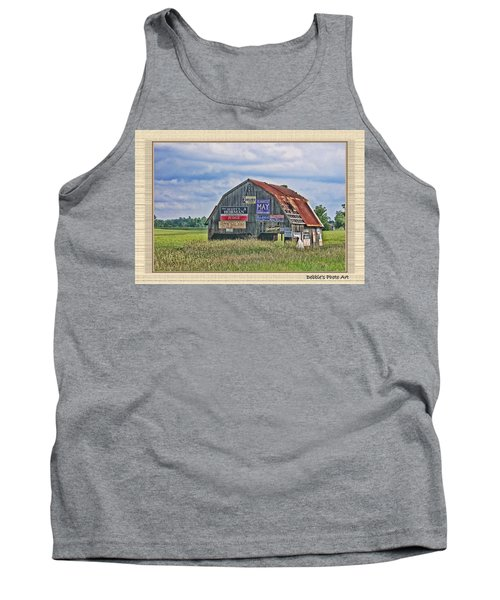 Tank Top featuring the photograph Vote For Me II by Debbie Portwood