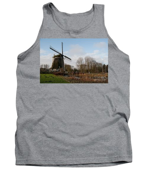 Windmill In Amsterdam Tank Top by Carol Ailles
