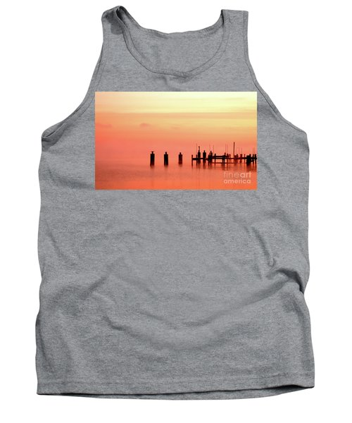 Tank Top featuring the photograph Eery Morn by Clayton Bruster