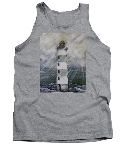 Point Lookout Lighthouse Tank Top