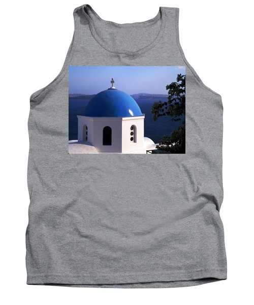 Tank Top featuring the photograph Santorini Greece by Colette V Hera  Guggenheim