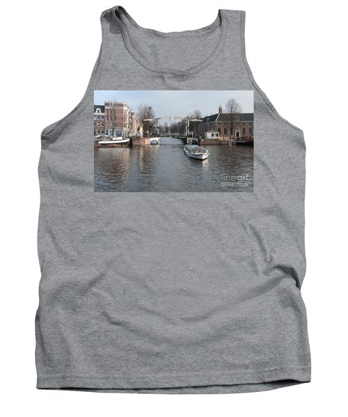 City Scenes From Amsterdam Tank Top by Carol Ailles