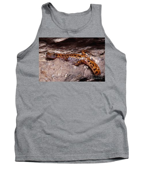 Cave Salamander Tank Top