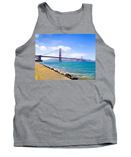 75 Years - Golden Gate - San Francisco Tank Top
