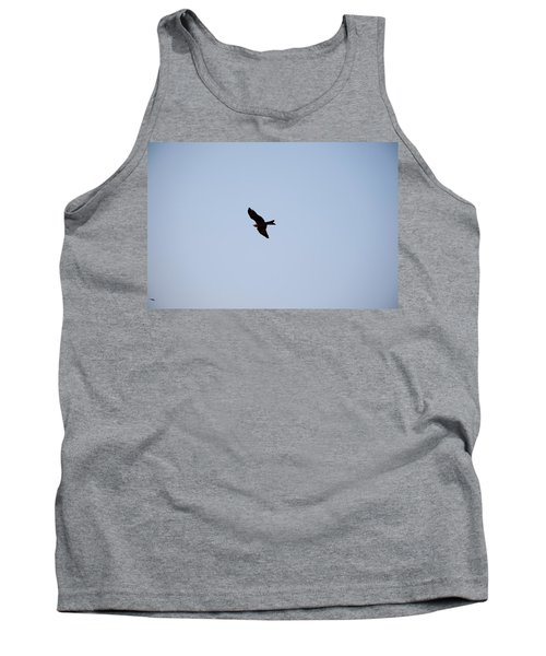 Tank Top featuring the photograph A Kite Flying High In The Sky by Ashish Agarwal
