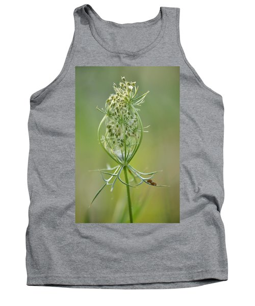 Tank Top featuring the photograph A Meal Of Lace by JD Grimes