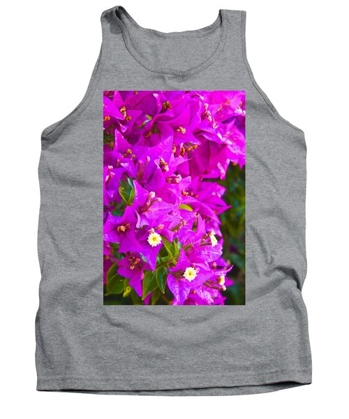 A Wall Of Flowers Tank Top