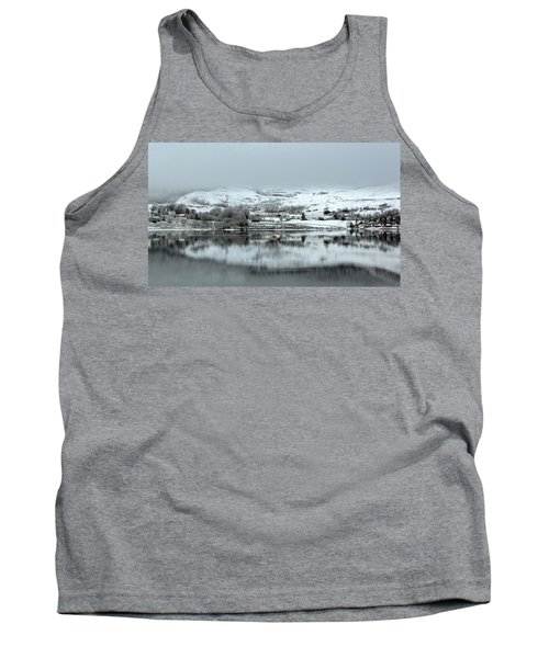 Tank Top featuring the photograph A Winter's Scene by Lynn Bolt