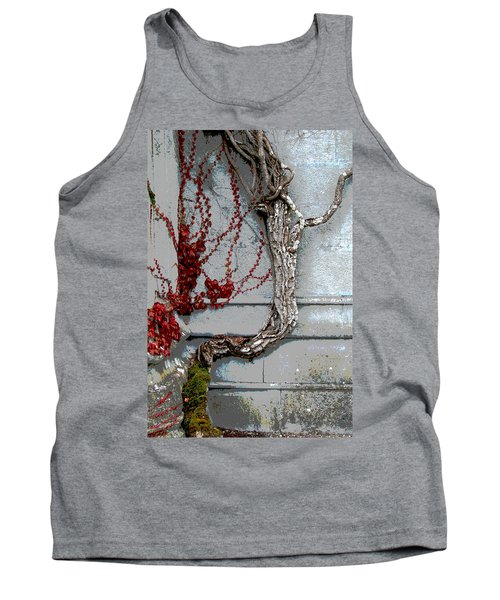 Tank Top featuring the photograph Adare Ivy by Charlie and Norma Brock