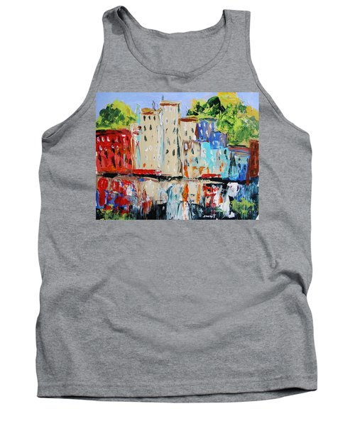 After Hours-reflection Tank Top by John Williams