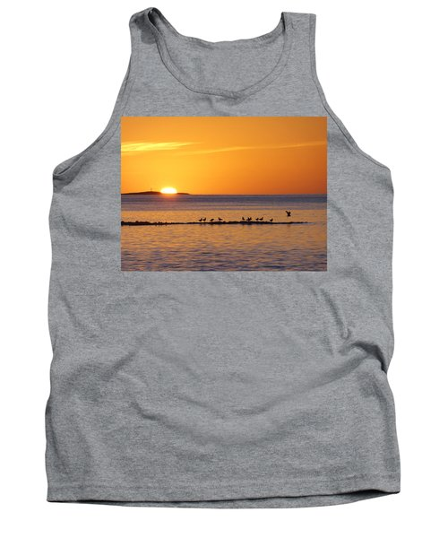 Tank Top featuring the photograph Agua Verde Sunrise by Anne Mott