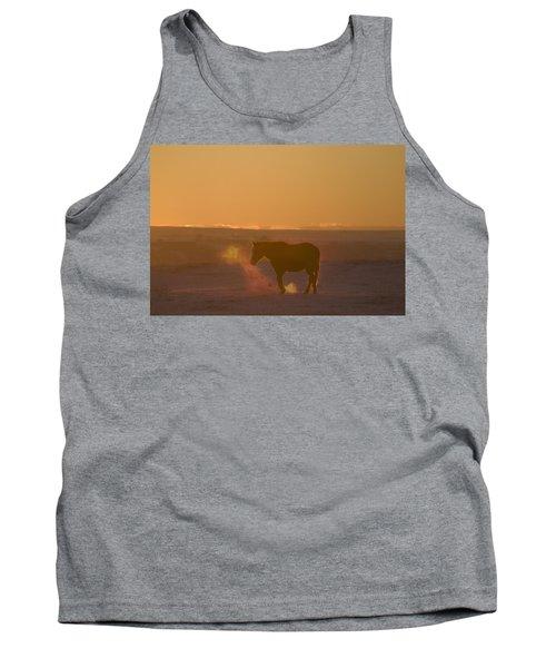 Alberta, Canada Horse At Sunset Tank Top