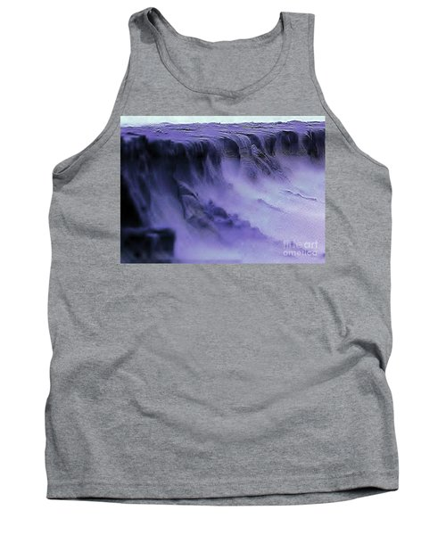 Tank Top featuring the photograph Alien Landscape The Aftermath by Blair Stuart
