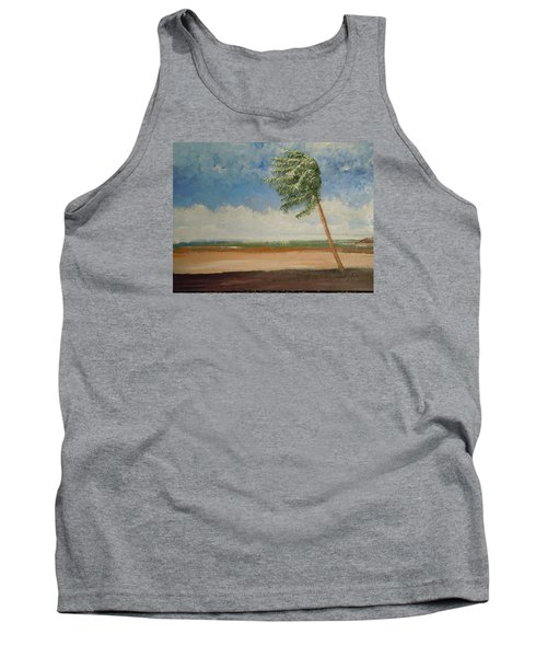 Alone In Paradise  Tank Top by Dan Whittemore