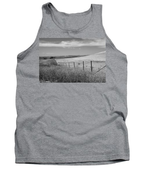 Tank Top featuring the photograph Along The Line by Kathleen Grace